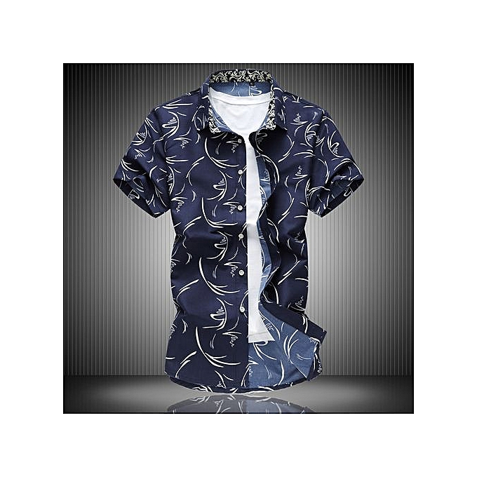 4ae0e1a1fad9 Mens Hipster Golden Foil Print Slim Fit Short Sleeve Floral Shirt/Disco  Perform Shirt-