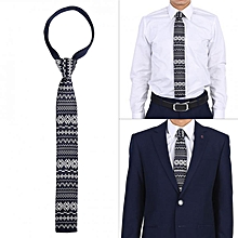 93393a7af7bb Men's Casual Knitted Skinny Tie Fashion Knit Necktie Wedding Party  Accessory (009)