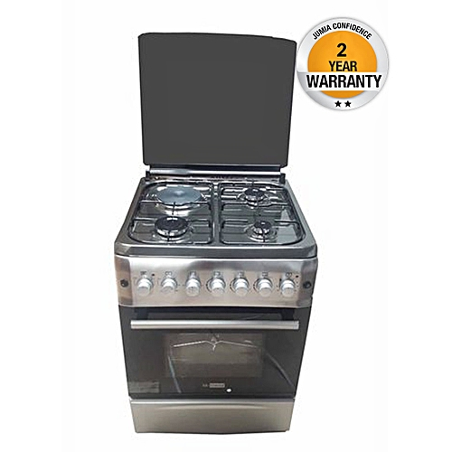 Gl S6031er Blueflame Cooker 3 Gas 1 Electric Rotisserie 60x60cm