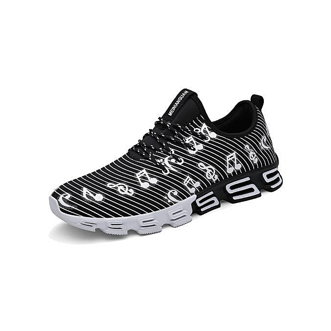 newest 316d6 25d31 Mesh Running Shoes For Men Sneakers Outdoor Breathable Comfortable Athletic  Flat Shoes Women Sports Shoes-black
