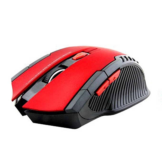 15ebe33da52 ... 2.4Ghz Mini portable Wireless Optical Gaming Mouse For PC Laptop Red ...