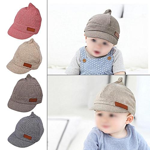 27a0a6783359f4 Buy Generic 1Pc Baby Girls Boys Cotton Hat Summer Beach Outdoor Sun Hats Cap  For 6-18 Months Kids(#2 Beige) online   Jumia Uganda