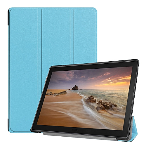 sale retailer 7ae04 91602 For Lenovo Tab E10 32GB TB-X104F Tablet 10.1 inch Slim Stand Leather Case  Cover