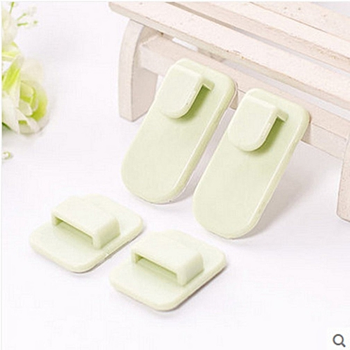 TV Remote Control Holder Hook Air Conditioner Remote Control Holder Wall  Mount Green