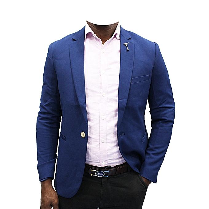 Buy New Designer Men's Blazer Royal - Blue Online