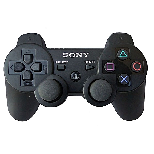 ps3 dualshock wireless control game pad black jumia uganda