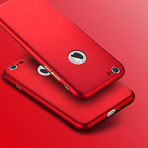 super popular c2779 481cb 360 Degree Back Phone Cover for iPhone 6/6s - Red