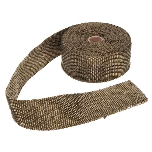 5Mx5CM Heat Exhaust Pipe Header Heat Wrap Resistant Fireproof Insulating  Cloth For Car -