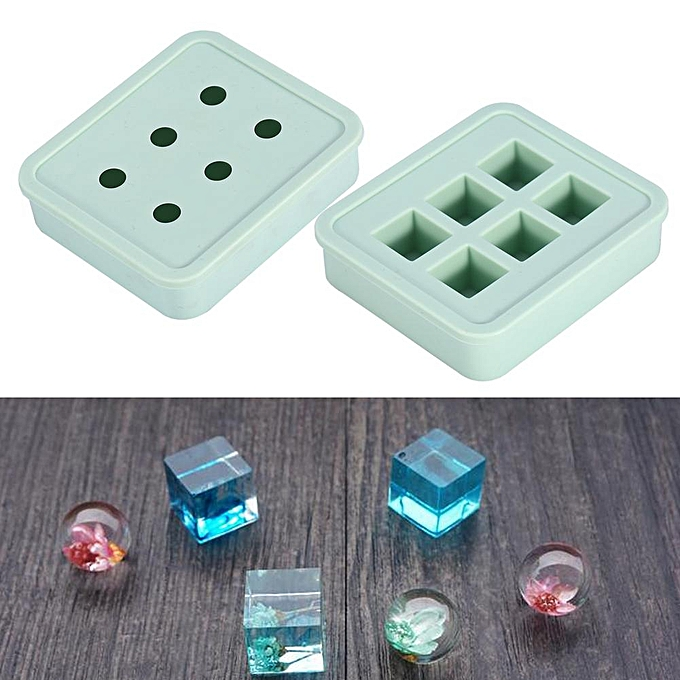 Jewelry Piece Mould Bracelet Necklace Pendant Bead Craft Silicone Mold  Making Tool Ball