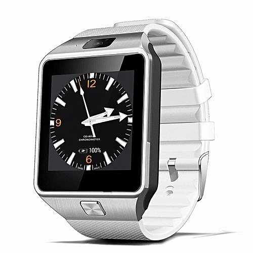 QW09 Bluetooth Smart Watch Clock Wifi 3G Smartwatch For IOS Android(White)