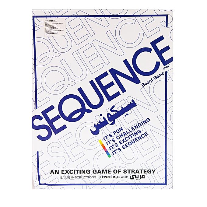 Buy Sequence Game White Best Price Online Jumia Uganda