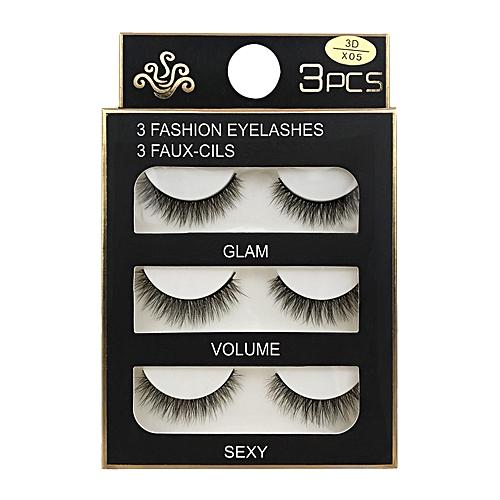 158865bbc84 Buy Generic SHIDISHANGPIN 3 Pairs 3D Mink Eyelashes Handmade Natural Cross Long  Fake Eye Lashes Extension Wispy False Lashes online | Jumia Uganda