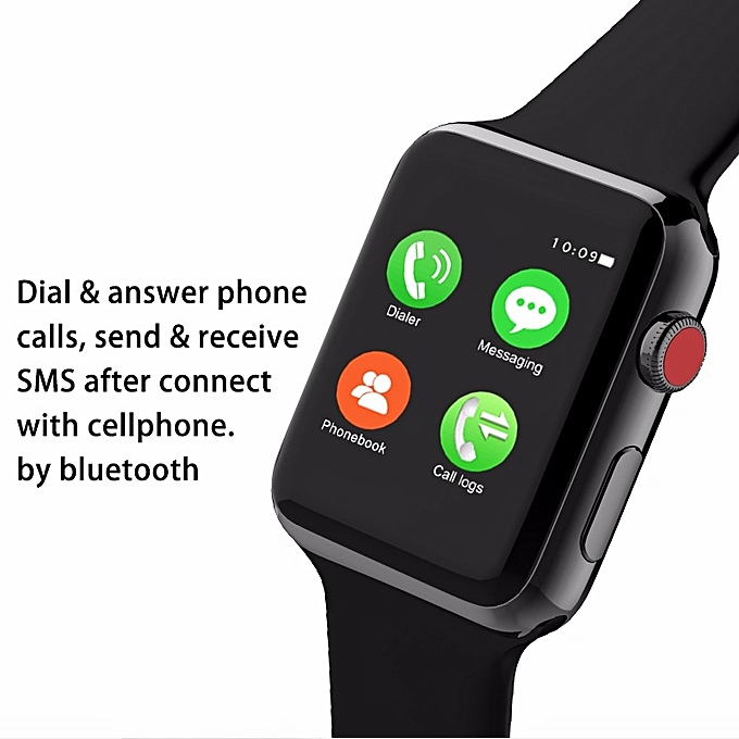 1417f7c4e4f3 ... Colmi Watch Series 3 - Smart Watch for iPhone - Black ...