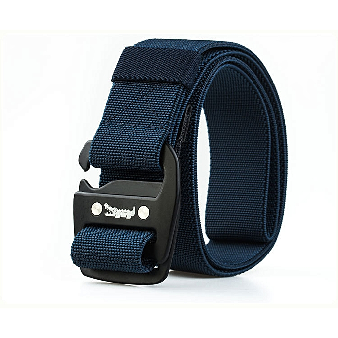 125CM Mens Nylon Military Belts Outdoor Sport Stretch Braided Elastic Weave  Tactical Belt
