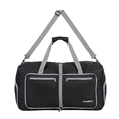 d3cfece2f05f TOMSHOO 80L Foldable Packable Duffle Bag Large Travel Luggage Shopping Gym  Storage Bag Water-resistant
