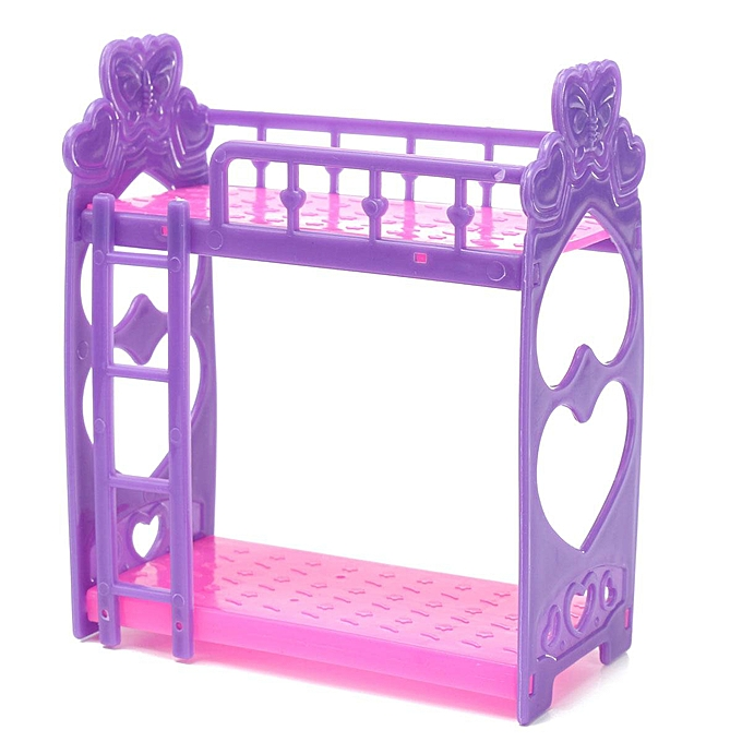 Buy Generic Plastic Bunk Bed W Ladder 1 6 For Barbie Doll S House