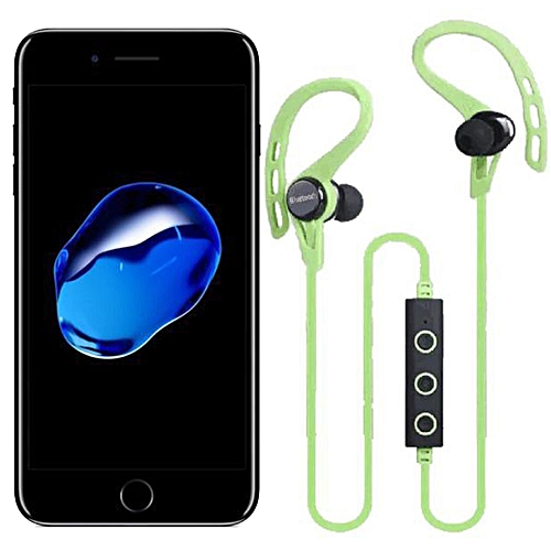 f3dcb92b149 Buy Generic Bluetooth Wireless Headset Stereo Headphone Earphone Sport For  iphone 7 online | Jumia Uganda