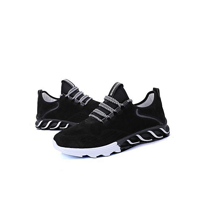 Running Shoes Men New Style Breathable Mesh Sneakers Men Black Light Sport Outdoor Shoes black