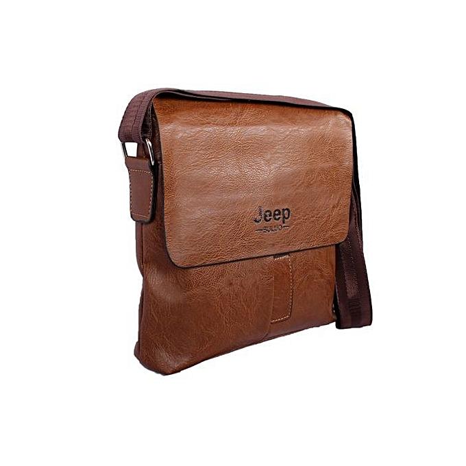 c89a043f85 Buy Jeep Jeep Shoulder Bag For Men - Brown online | Jumia Uganda