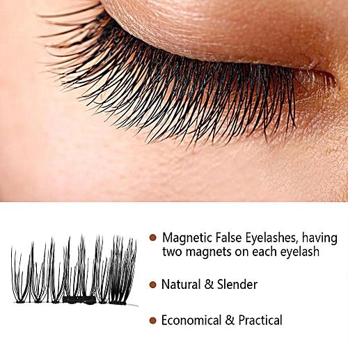 9ae0da92383 Buy Generic 4Pcs/Box Magnetic False Eyelashes Natural Anti-allergic  Reusable Handmade Eye Lashes (#3) online | Jumia Uganda