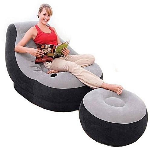Generic Original Intex Pressure Sofa Set Bean Bag With