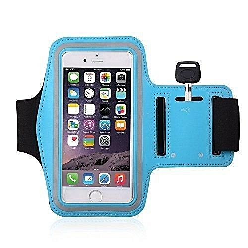 online retailer 9c0c4 510ff Arm Band, 4.7 Inches Water Resistant Iphone 6 Armband Adjustable Reflective  Velcro Workout Band, Key Holder & Screen Protector - Light Blue