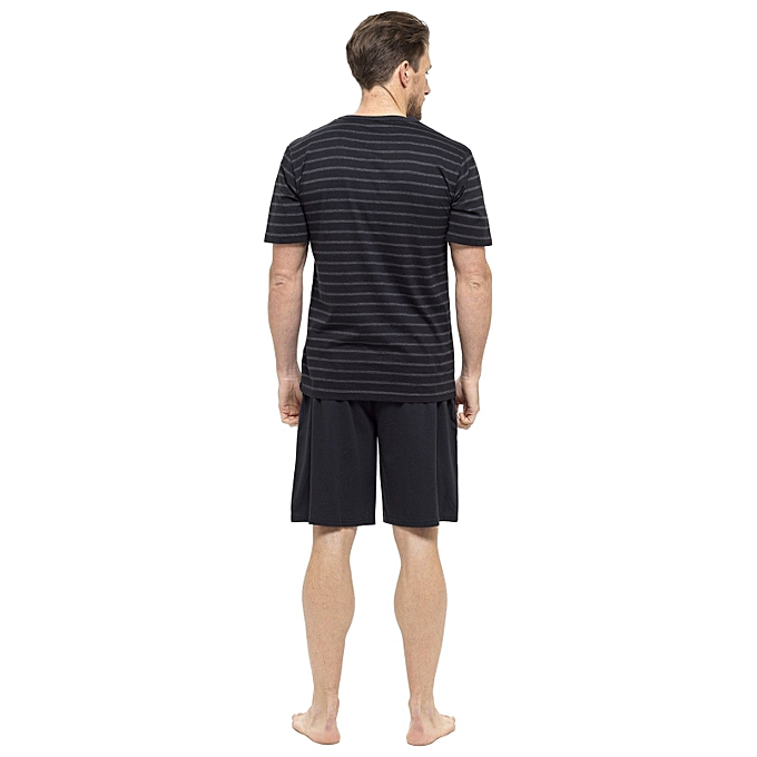 Generic Mens Tom Franks Stripped t-shirt and plain shorts pajama set ... b5b4fa573