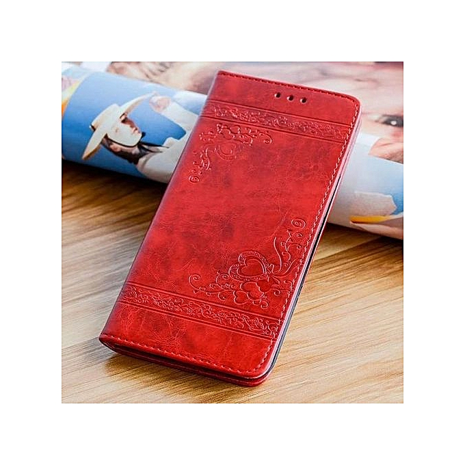 separation shoes 21c45 45935 Buy Generic Case For IPhone X, Retro Embossed Flower Wallet Case For ...