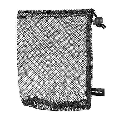 20d5f3c5a24f Golf Nylon Drawstring Mesh Net Bag Pouch for Golf Balls Table Tennis Balls  Carrying Holder Storage Bag for 15 Balls / 25 Balls