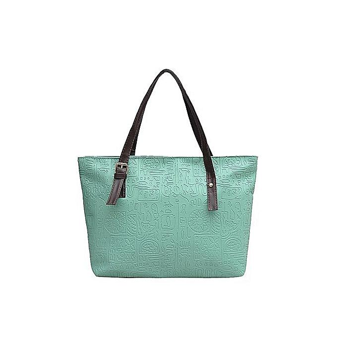 c0e8bed8e Women Handbag Shoulder Bag Tote Ladies Purse Small Square Bag —green