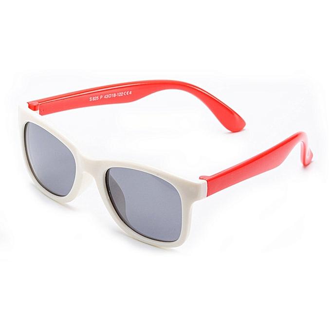 6ad820882a1d Buy FASHION KB825 Polarized Silicone Sunglasses Anti-UV Kids Glasses ...