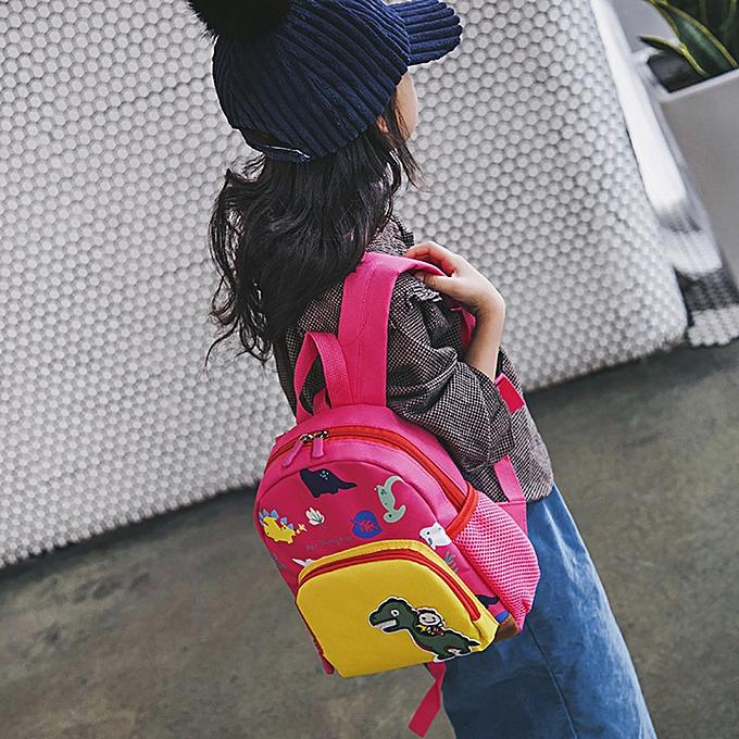 1a8683c8943e Baby Boys Girls Kids Bag Dinosaur Pattern Cartoon Backpack Toddler School  Bags
