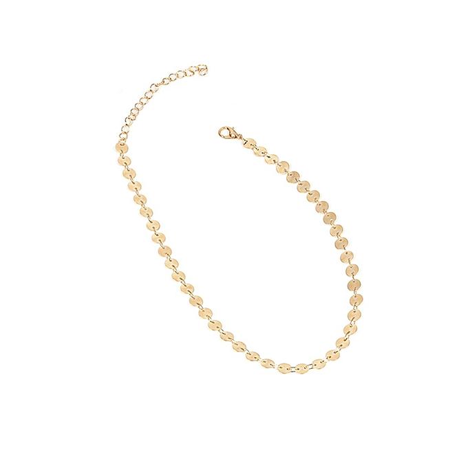 18ea323248e YR455 geometric handmade small fresh necklace gold Female Temperament  Jewelry