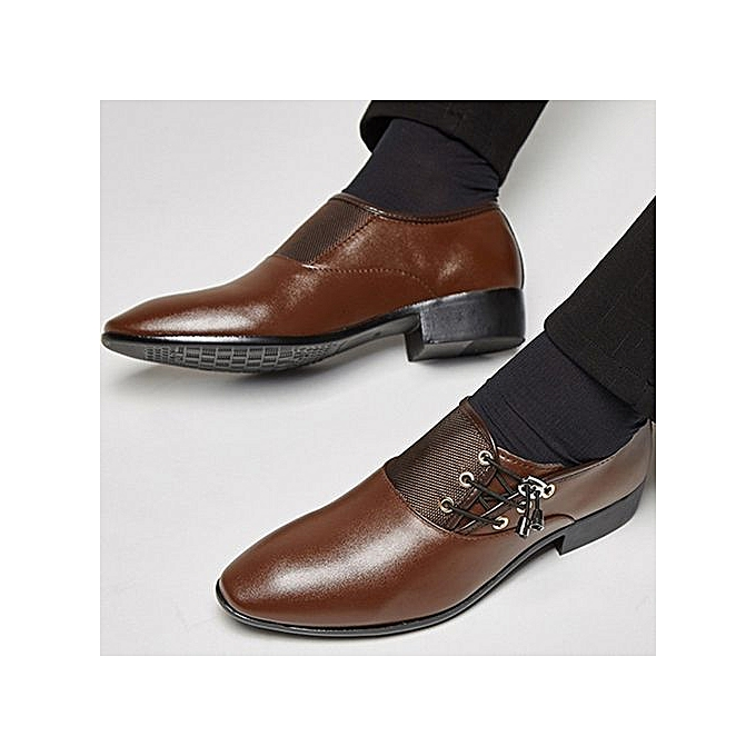 2574d83a18f2 Stylish Spring Leather Shoes Men Business Dress Shoes