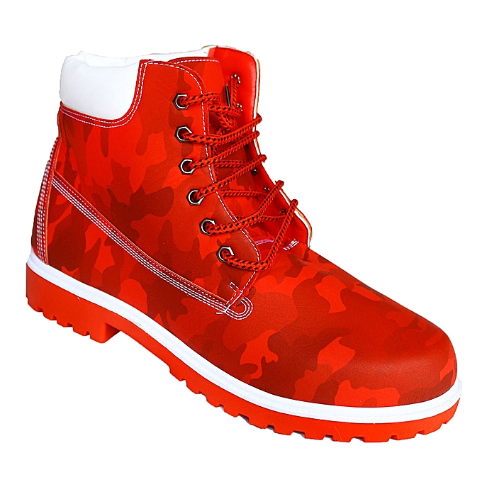 Men s Hiking Boots - Red  ff777f9a6