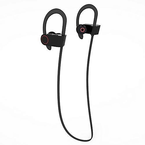 8f5a74dcfe6 Buy Generic Unique Neck-strap Wireless Bluetooth Headphones Sports  Sweatproof In-Ear Headsets Noise-reduction Earphone (Black) - Int'l online  | Jumia Uganda