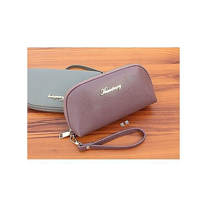various colors 21216 18eaa Women's Shell Clutch Bag Large-capacity Mobile Phone Bag Purse Wallet—purple