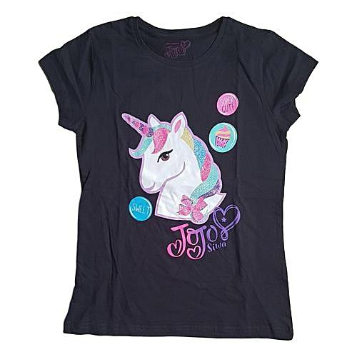 9ca6fe3e65302 Buy Generic Girls JoJo Siwa Unicorn T-shirt online   Jumia Uganda