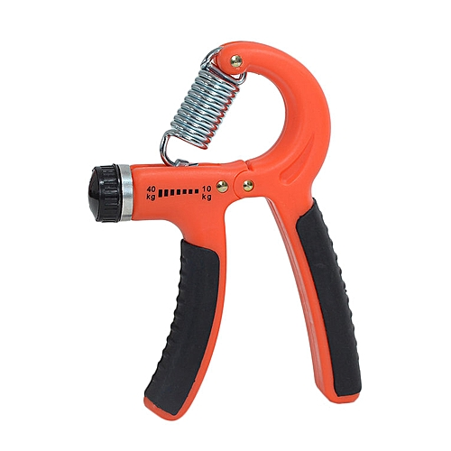 New Adjustable Hand Grip Strength Best For Muscle Wrist Fingers Training  orange