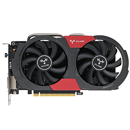 Colorful NVIDIA GeForce GTX iGame 1050Ti GPU 4GB 128bit Gaming 4096M GDDR5  PCI-E X16 3 0 Video Graphics Card DVI+HD+DP Port with Two Cooling Fan