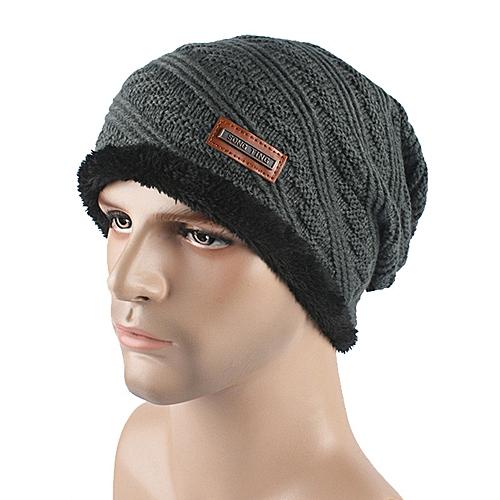 Buy Generic Men Women Baggy Warm Crochet Winter Wool Knit Ski Beanie