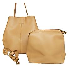 cfa52e49d4 2-in-1 Women  039 s Tote Handbag - Brown