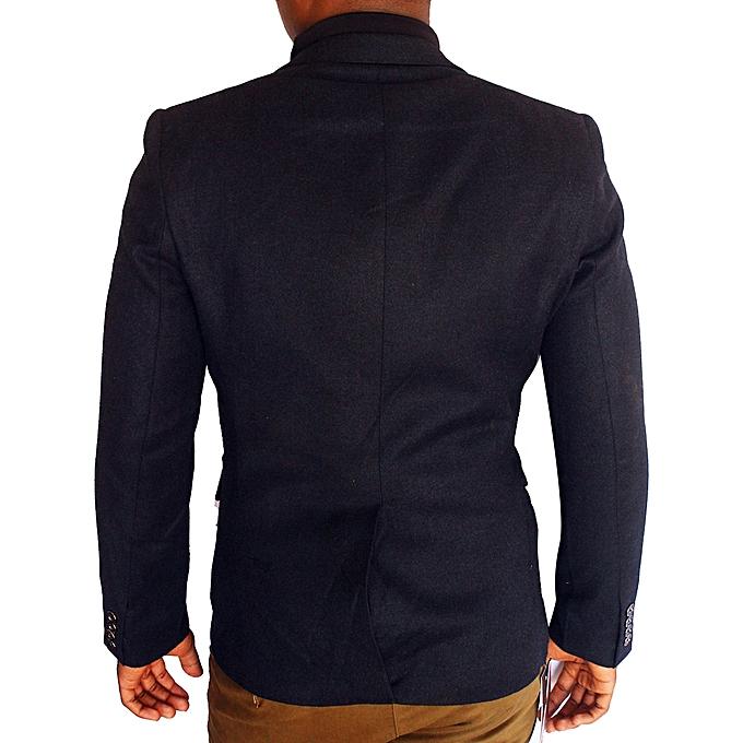Blazers Jumia: Generic Long Sleeve Slim Fit Blazer - Black