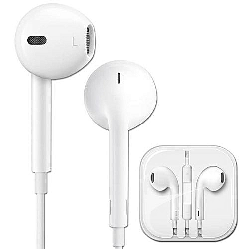3855b0a5c11 Buy Apple Apple EarPods with 3.5mm Headphone Plug In Ear Earphones In-line Remote  Microphone for iPhone 6s Plus 6 Plus SE 5s 5 iPad online | Jumia Uganda