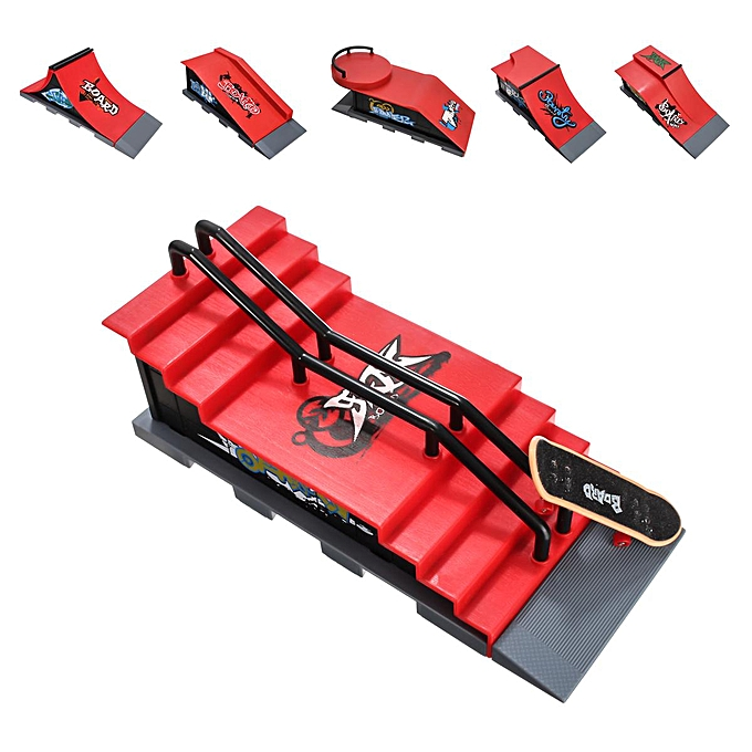 Mini Skate Park Ramp Parts For Tech Deck Fingerboard Finger Skateboard Board