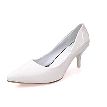 6c665ddb1 Summer Korean Shallow High Heel Pumps Women Formal Pointed Toe Thin Heel  Shoes Patent Leather Shoes