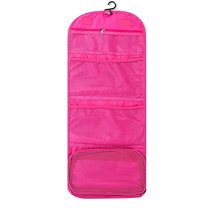 f53a425f3147 Fold wash makeup bag hanging cosmetic bag travel home wash bag tool storage  bag must-have makeup box beauty