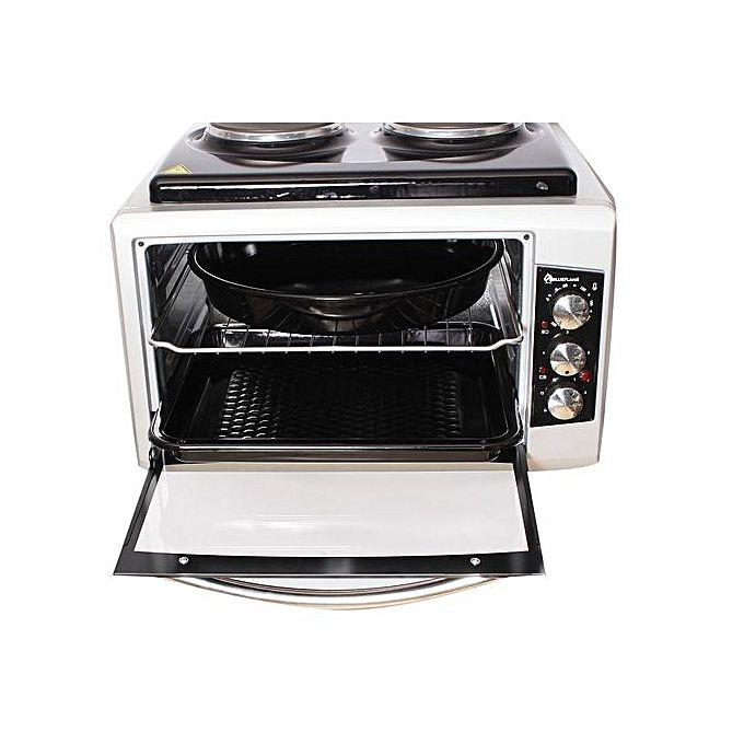bf 0125 40ltrs blue flame mini oven with 2 hot plates. Black Bedroom Furniture Sets. Home Design Ideas
