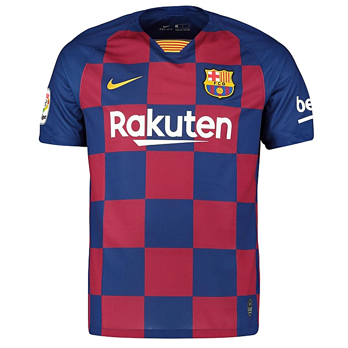 100% authentic f754f ad351 Replica Barcelona FC 2019/20 Short Sleeve Jersey - Blue, Red