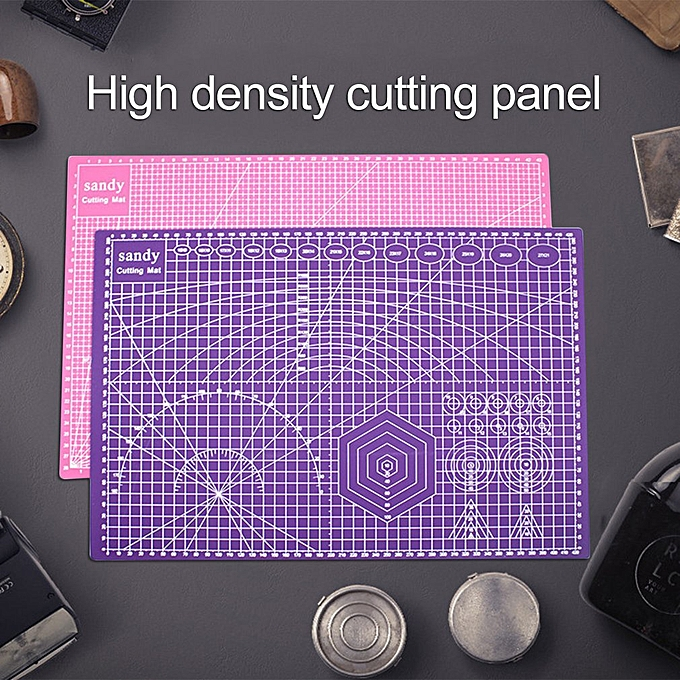 250e7b47b8e656 ... A3 Cutting Mat Cutting Underlay A3 Cutting Board Plate For Hand Form Block  purple ...
